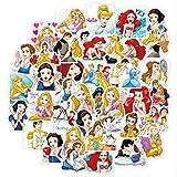 Sticker Toy Donald Duck Minnie Stitch Disney Princess Cute Cartoon Sticker Luggage Guitar Notebook Graffiti Sticker 40Pcs