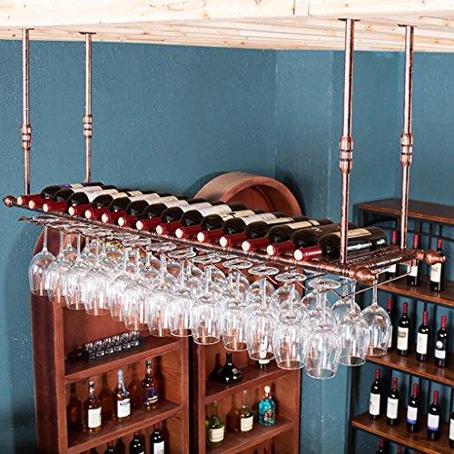 Portabottiglie Portabottiglie, porta bicchieri, calici creativi, portabottiglie per bar da...