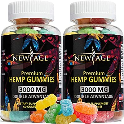 Here at New Age we truly care about you and your health. That's why we use only the best ingredients for the absolute best taste and quality because that's what you deserve. New Age hemp gummies are made in the USA and infused with the highest qualit...