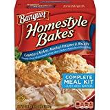 Banquet Homestyle Bakes Country Chicken, 30.9-Ounce Boxes (Pack of 6)
