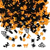 Aneco 150g Confetti Spider Witch Pumpkin Cat Ghost Bat Skeleton Sprinkles Table Confetti Halloween Night Party Decorationbet, Elk Table Confetti Bright Christmas Decoration Set
