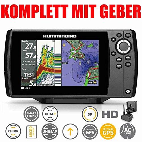 HumminbirdEcoscandaglio combinato GPS Helix 7G2HD