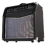 "Classic Cantabile SG200R Gitarrencombo - Verstärker mit 20 Watt (RMS) - 8"" Speaker - 2 Kanäle (Clean und Overdrive) - Regelbarer Federhall"