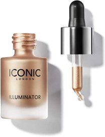 ICONIC London Iluminador Líquido - Gotas con Shimmer de Alta Pigmentación, Original, 13.5ml : Amazon.es: Belleza