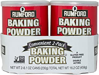 Rumford Baking Powder, 8.1 Ounce, 2 Count