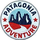 Club of Heroes Lot de 2 écussons brodés Patagonia Adventure/Amérique du...