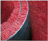 Paillasson en fibre de coco - Bordeaux - Épaisseur de 17mm - Sur mesure Paillasson de couleur unie. Vendu par tranche de 10 cm sur 1 m - A titre d'exemples, pour un tapis de 100x50cm sélectionner 5 dans la quantité, pour un tapis de 100x70cm, sélectionner 7 comme quantité ou pour un tapis de 100x230cm, sélectionner 23 comme quantité - Pour des dimensions particulières, contacter le vendeur