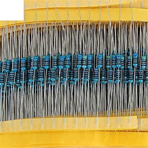 ARCELI 600pcs / Lot 30Values 20pcs 1% 1/4 W Resistor Pack El