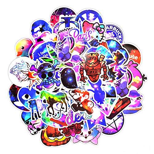 YGSAT 100 PCS Adesivo per Testa di Teschio Graffiti Sticker Adesivo Casuale per Skateboard e...