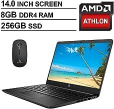 2020 Newest HP 14 Inch Premium Laptop, AMD Athlon Silver 3050U up to 3.2 GHz, 8GB DDR4..