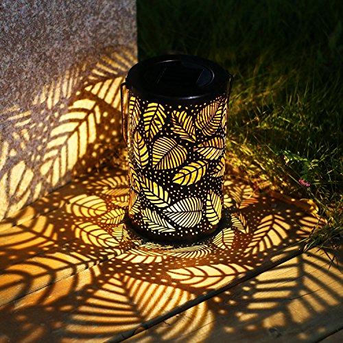 TAKE ME Solar Lantern Lights Outdoor,Garden Hanging Lights Metal...