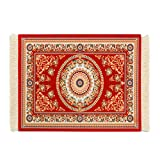 Vintage Mouse Pad, Persian Rug Style Anti-Slip Mouse Mat for Laptop Computer PC, Office Gaming Mousepad Oriental Persian Desk Rug Coaster by SubClap