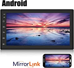 "Android Double Din Car Radio with Bluetooth GPS Navigation WiFi 7"" LCD Touch Screen.."