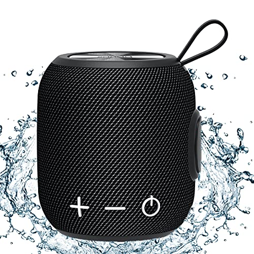 Bluetooth Speaker, SANAG M7 Plus Portable Speakers, Bluetooth 5.0 Dual Pairing Bass Wireless Sp…