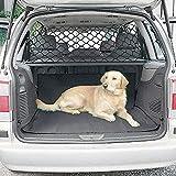 Car Pet Safety Barrier Net, Adjustable Practical Pet Separation Net Fence Safety Vehicle Barrier Pet Restraint for SUV Vans Trucks.