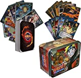100 Assorted Naruto Collectible Cards With Rares and Foils. Includes Random Naruto Sealed Tin