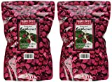 Trader Joe's Dried Fruit Freeze Dried Raspberries Unsweetened and Unsulfured 1.2 oz, (2-Pack )