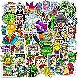 WANGPENG Pegatinas de Animales de Dibujos Animados de Anime, monopatín Impermeable, Maleta de Viaje, teléfono, portátil, Pegatinas para Equipaje, Lindos Juguetes para niñas y niños, 50 Uds.