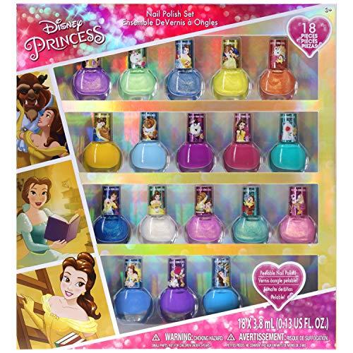 Townley Girl Disney Princess Belle Esmalte De Uñas Despegab