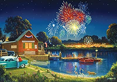500 piece jigsaw puzzle Finished size is 21.25 x 15 inches Includes bonus poster for help in solving Manufactured from premium quality materials Made in the USA