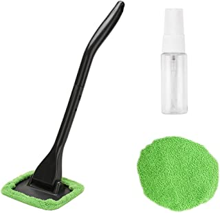 XINDELL Window Windshield Cleaning Tool Microfiber Cloth Car Cleanser Brush with..