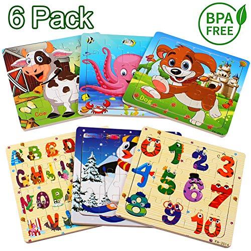 StillCool Jigsaw Puzzle di Legno Animal Puzzle 20 Pezzi Giocattoli didattici educativi per Bambini...