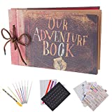 Our Adventure Book Pixar Up Handmade DIY Family Scrapbook Photo Album...