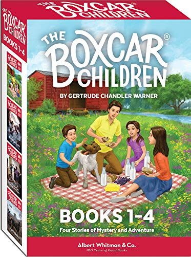 The Boxcar Children Books 1-4 ( Cover may Vary )