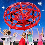 SHWD Hand Operated Drones for Kids, Mini Drone UFO Kids Drone with Led Lights, Levitation Drones...