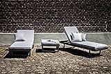 greemotion Lounge-Set Calais, 3 teilig, Gartenmöbel-Set inkl. Auflagen - 4