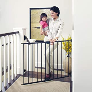 "Toddleroo by North States 47.85"" Wide Easy Swing & Lock Baby Gate: Ideal for.."