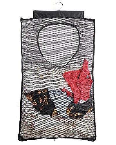 ALYER Mesh Laundry Hamper,Foldable Hanging Storage...