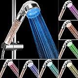 innislink Douchette de Douche LED, Douchette douche salle de bain Douchette à main 7...
