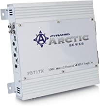 PYRAMID 2 Channel Car Stereo Amplifier – 1000W Dual Channel Bridgeable High Power..