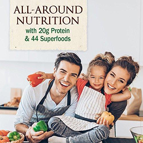 Garden of Life Meal Replacement - Organic Raw Plant Based Protein Powder, Chocolate, Vegan, Gluten-Free, 35.9oz (2lb 4oz/1,017g) Powder 7
