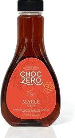 ChocZero's Maple Syrup. Sugar free, Low Carb, Sugar Alcohol free, Gluten Free, No preservatives, Non-GMO. Dessert and Brea...