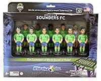 Limited Edition 11 Seattle Sounders players with realistically molded and painted faces and jerseys Includes star players like Clint Dempsey and DeAndre Yedlin Each player is 3.4 inches tall with individual stand and name for collectible display Made...