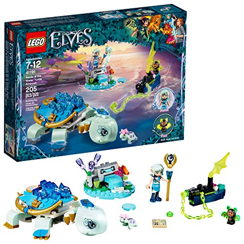 LEGO Elves Naida & The Water Turtle Ambush 41191 Building Kit (205 Pieces)