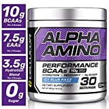Cellucor Alpha Amino Eaa & BCAA Recovery Powder ICY Blue Razz | Essential & branched Chain Amino acids Supplement | 30 Servings