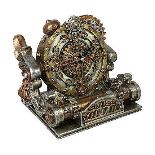 Alchemy Gothic Time Chronambulator Desk Clock (Office Product)