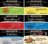 Bigelow Black Tea 6 Flavor Variety Pack, 20 Count Box (Pack of 6) Caffeinated Black Teas, 120 Tea Bags Total