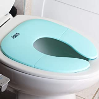 Folding Travel Potty Seat for Boys and Girls, Fits Round & Oval Toilets, Non-Slip..