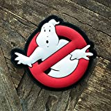 NEO Tactical Gear Ghostbuster Glow in The Dark PVC Morale Patch, Hook Backed Morale Patch
