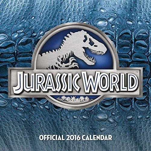 The Official Jurassic World 2016 Square Calendar (Calendar 2016)