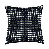 Kristalin Davis Pattern 309 Throw Pillow, 18x18, Multicolor