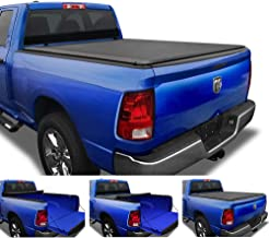 Tyger Auto T1 Soft Roll Up Truck Bed Tonneau Cover Compatible with 2009-2018 Dodge Ram..