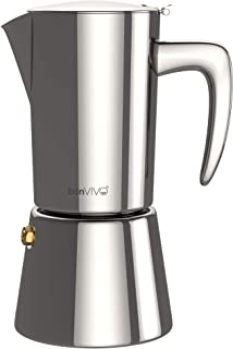 bonVIVO Intenca Stovetop Espresso Maker – Luxurious Italian Coffee Machine Maker,..