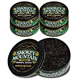 Smokey Mountain Herbal Snuff - Wintergreen - 5 Cans - Nicotine-Free and Tobacco-Free