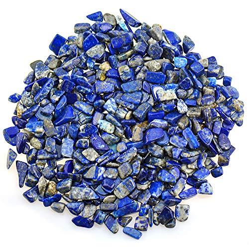 UFEEL Lapis Lazuli Tumbled Chips Stone Crushed Crystal...