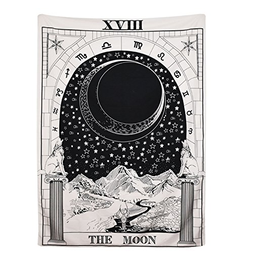 Tarot Tapestry The Moon The Star The Sun Tapestry Medieval...